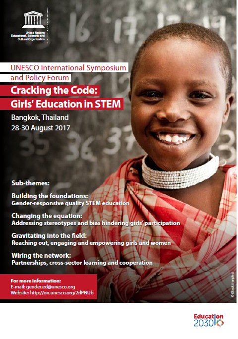 Digital Coalition at Unesco Symposium Cracking the Code 4 Girl in STEM