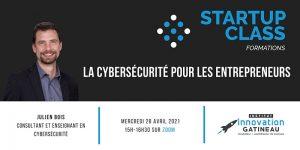 La cybersécurité pour les entrepreneurs